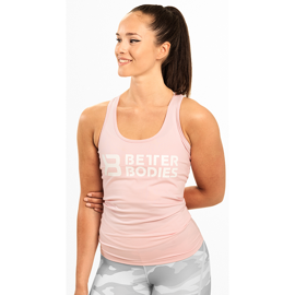 Better Bodies Chrystie T-Back Pale Pink