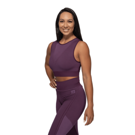 Better Bodies Roxy Seamless Tank Top Royal Purple