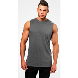 Better Bodies Bronx Tank Dark Greymelange