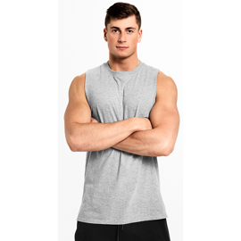 Better Bodies Bronx Tank Grey Melange