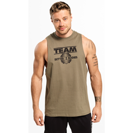 Better Bodies Team BB Tank Wash Green