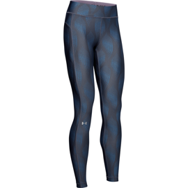 Under Armour HeatGear Armour Metallic Leggins Downpour Gray