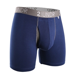 2UNDR Swing Shift Boxers Navy