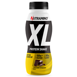 Nutramino Protein XL Shake Chocolate/Ba 500ml - 12 st