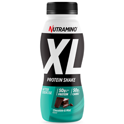 Nutramino Protein XL Shake Chocolate/Mint 500ml - 12 st