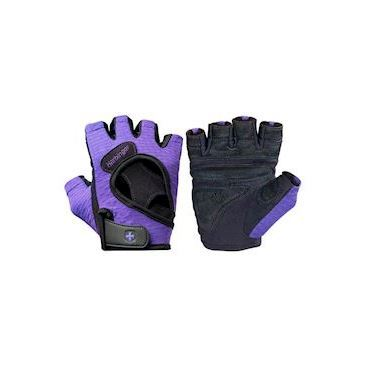 Harbinger Women's FlexFit Gloves -  Black/Purple
