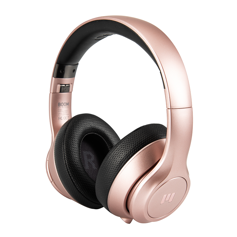 BOOM by Miiego Trådlöst Headset Rose Gold