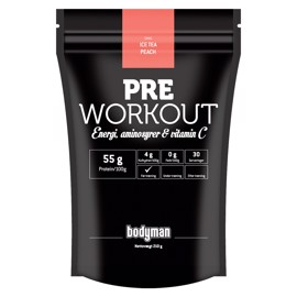 Bodyman Pre Workout Ice Tea Peach 210g