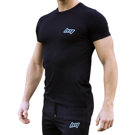 BM Mens Fitted T-Shirt Black