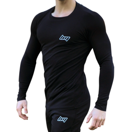 BM Shape Tee Long Sleeve Black