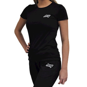 BM Lady Fitted T-Shirt Black