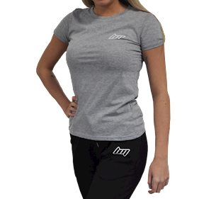 BM Lady Fitted T-shirt Oxford Grey