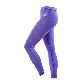 Gold's Gym Pattern Printed Long Gym Tight Pants Lilac