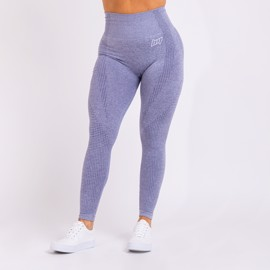 BM Seamless High Waist Tights Blue Grey