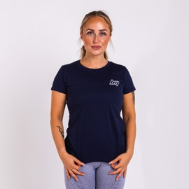BM Womens Fitted T-Shirt Blue Navy