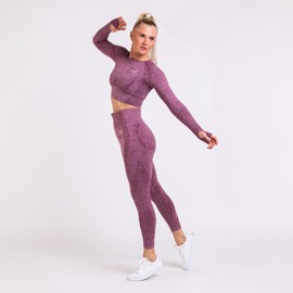BM Seamless Set Wine Red