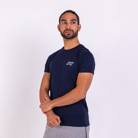 BM Mens Fitted T-Shirt Dark Navy
