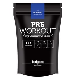 Bodyman Pre Workout Blueberry Limited Edition