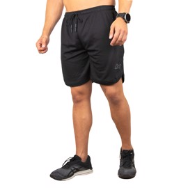 BM Pocket Mesh Shorts Steelgrey