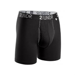 2UNDR Swing Shift Boxers Black