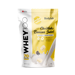 Bodylab Whey 100 Chocolate Banana Swirl 1000g