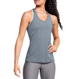 Under Armour HeatGear Racer Tank Green