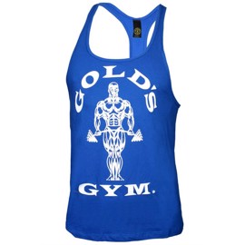 Golds Gym Stringer Tanktop - Royal