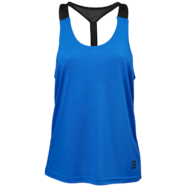 Better Bodies Loose Fit Tank Strong Blue