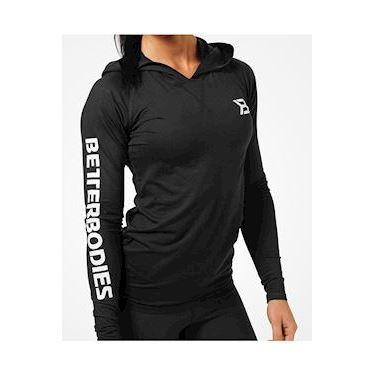 Better Bodies Performance ls Hood - Black