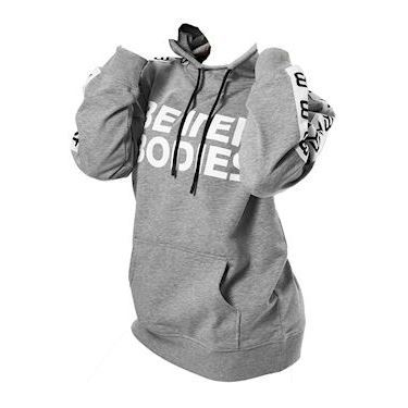 Better Bodies Trinity Hood Grey Melange