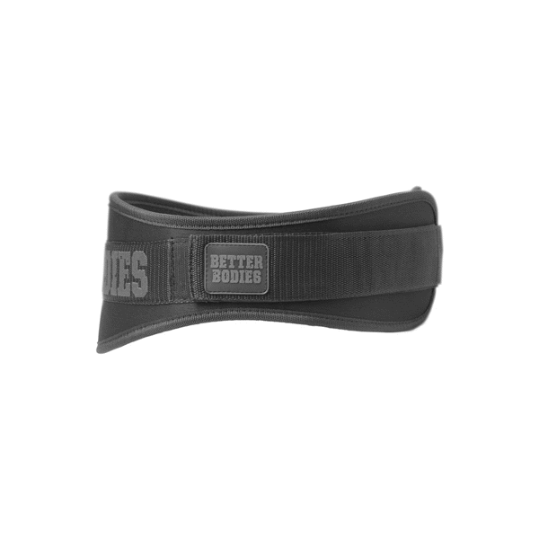 Better Bodies Basic Gym Belt Black