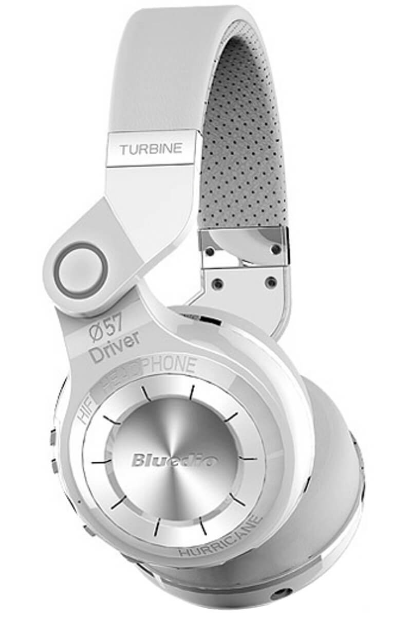 Bluedio T2 Headphones White