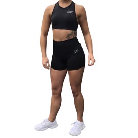 BM Seamless Shorts & Sports Bra Black