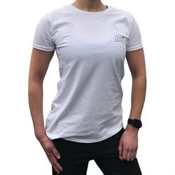 BM Womens Fitted T-Shirt White