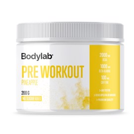 Bodylab Pre Workout Pineapple (200 g)