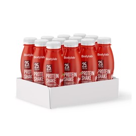 Bodylab Protein Shake Strawberry Milkshake 12x330ml