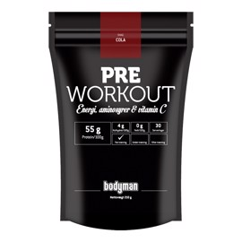 Bodyman Pre Workout Cola