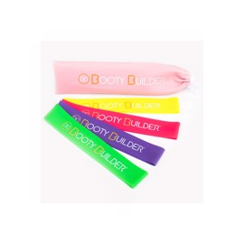 Booty Builder Bands 4 Pack Pink