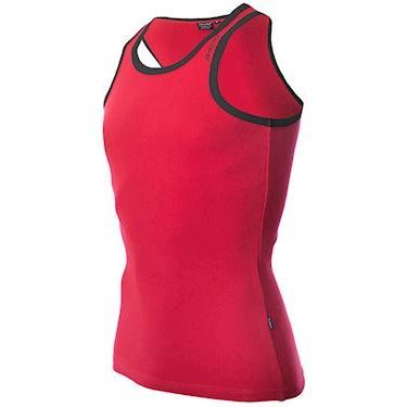 Dcore Bodydesigned Ribsinglet Red/Black
