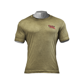Gasp Standard Issue Tee Military Oil