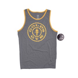 Weight Plate Contrast Athlete Tank
