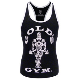 Golds Gym Ladies Loose Fit Muscle Tank Black