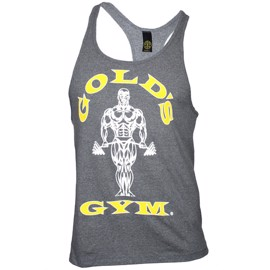 Golds Gym Stringer Tanktop - Grey