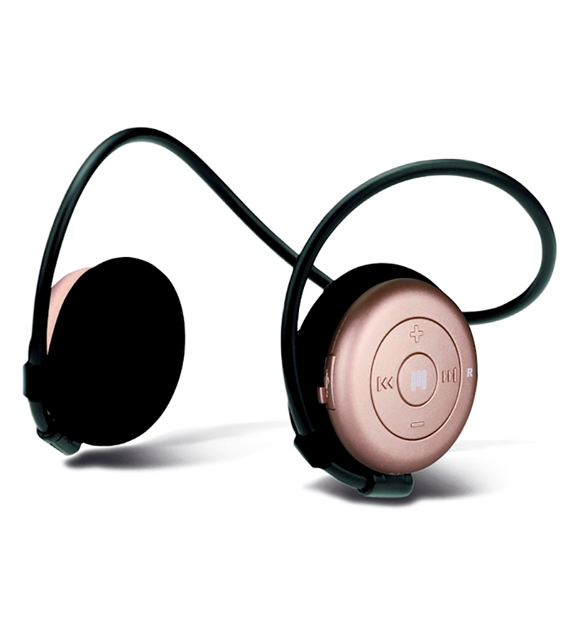 Miiego Wireless Headphones Rose Gold