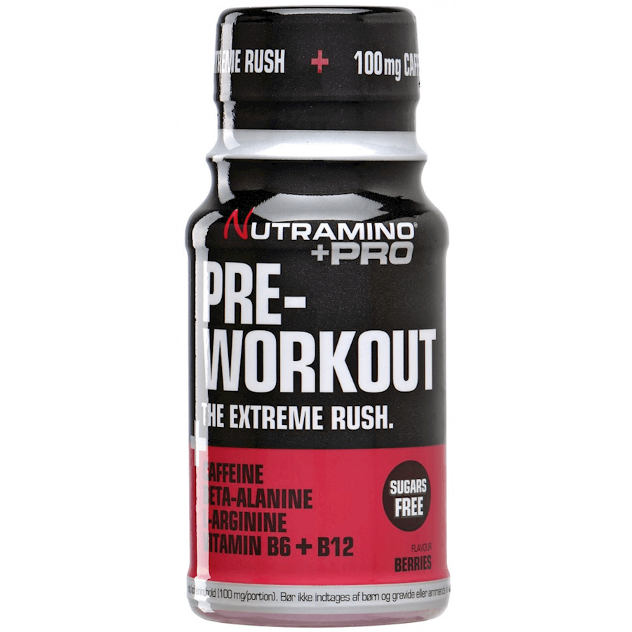 Nutramino +Pro Pre-Workout Berries 12x60ml
