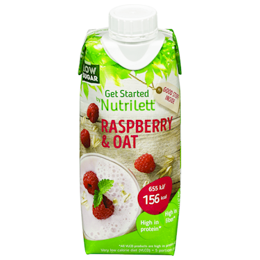 Nutrilett VLCD Smoothie Raspberry & Oat 12x330ml