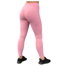 BM High Waist Pocket Tights Light Pink