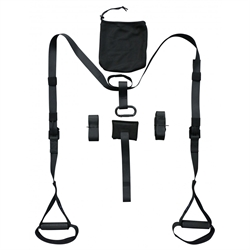 TITAN LIFE Pro Suspension Trainer Black