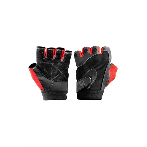 BetterBodies \'Pro\' Lifting Gloves Black/Red