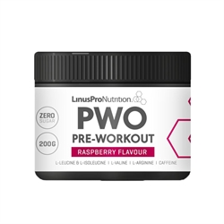 LinusPro Pure Pre-Workout Raspberry 200g
